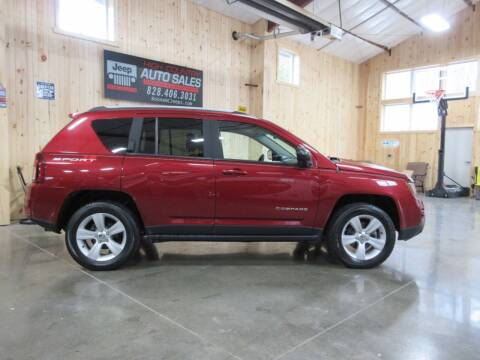 2016 Jeep Compass for sale at Boone NC Jeeps-High Country Auto Sales in Boone NC