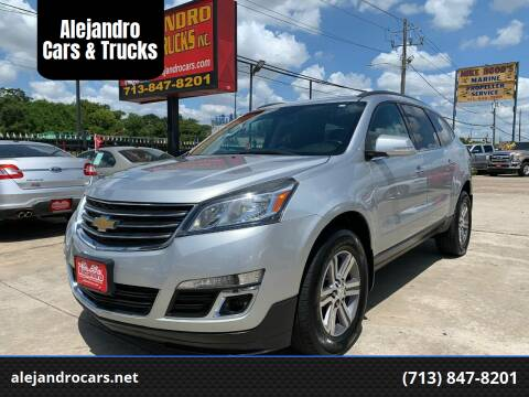 2015 Chevrolet Traverse for sale at Alejandro Cars & Trucks in Houston TX