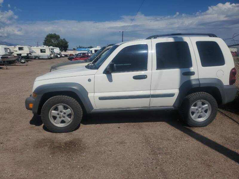 2006 Jeep Liberty for sale at PYRAMID MOTORS - Fountain Lot in Fountain CO
