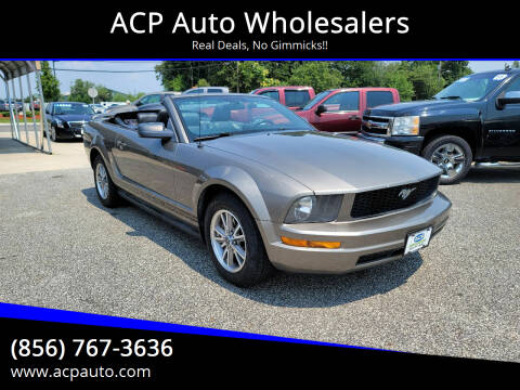 2005 Ford Mustang for sale at ACP Auto Wholesalers in Berlin NJ