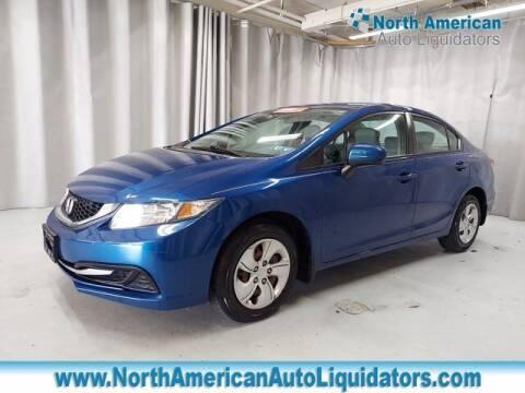 2015 Honda Civic for sale at North American Auto Liquidators in Essington PA