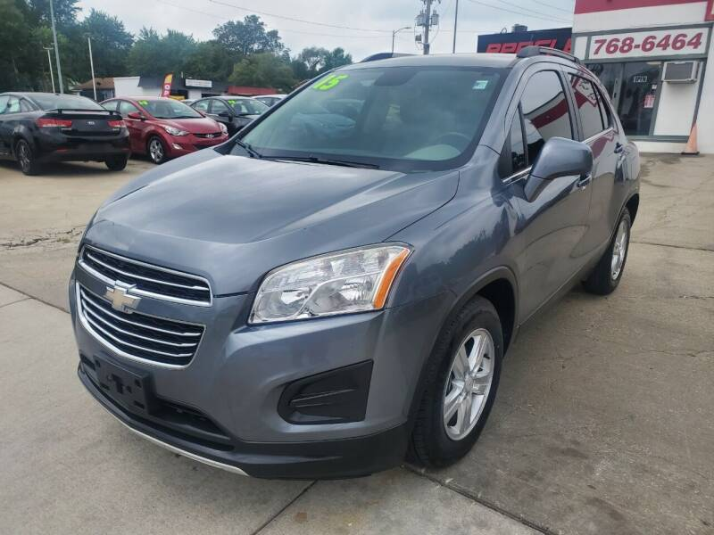 2015 Chevrolet Trax for sale at Quallys Auto Sales in Olathe KS