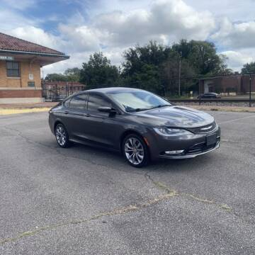 2015 Chrysler 200 for sale at FIRST CLASS AUTO SALES in Bessemer AL