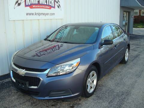 2015 Chevrolet Malibu for sale at Team Knipmeyer in Beardstown IL