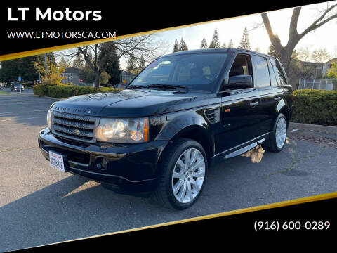 2006 Land Rover Range Rover Sport for sale at LT Motors in Rancho Cordova CA