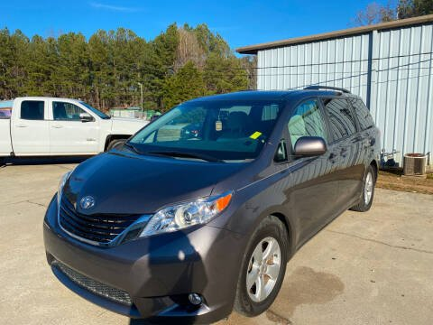2013 Toyota Sienna for sale at Elite Motor Brokers in Austell GA