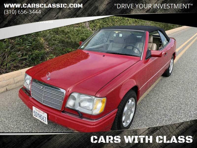 1995 Mercedes-Benz E-Class for sale at CARS WITH CLASS in Santa Monica CA
