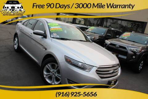 2015 Ford Taurus for sale at West Coast Auto Sales Center in Sacramento CA