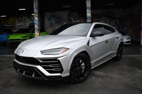 2020 Lamborghini Urus for sale at ELITE MOTOR CARS OF MIAMI in Miami FL