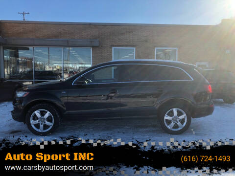2012 Audi Q7 for sale at Auto Sport INC in Grand Rapids MI