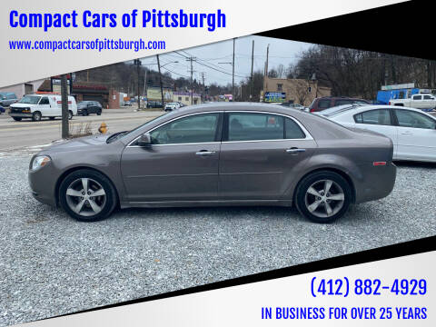2012 Chevrolet Malibu for sale at Compact Cars of Pittsburgh in Pittsburgh PA