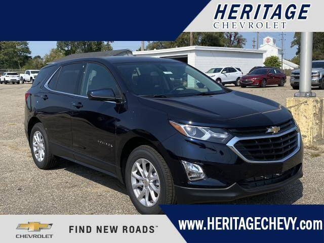 2020 Chevrolet Equinox for sale at HERITAGE CHEVROLET INC in Creek MI