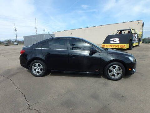 2012 Chevrolet Cruze for sale at BLACKWELL MOTORS INC in Farmington MO