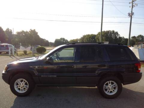 2004 Jeep Grand Cherokee for sale at Street Source Auto LLC in Hickory NC