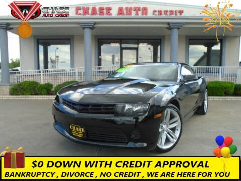 2014 Chevrolet Camaro for sale at Chase Auto Credit in Oklahoma City OK