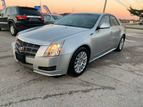 2010 Cadillac CTS for sale at STL Automotive Group in O'Fallon MO