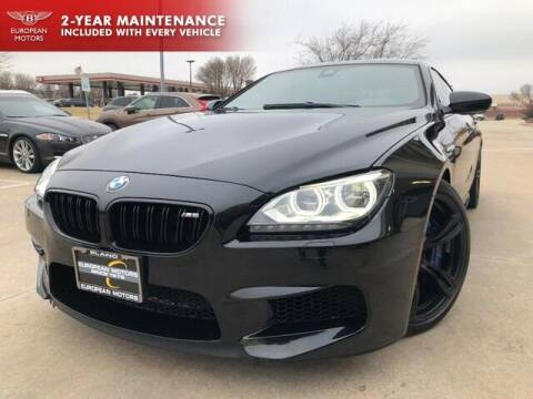2015 BMW M6 for sale at European Motors Inc in Plano TX