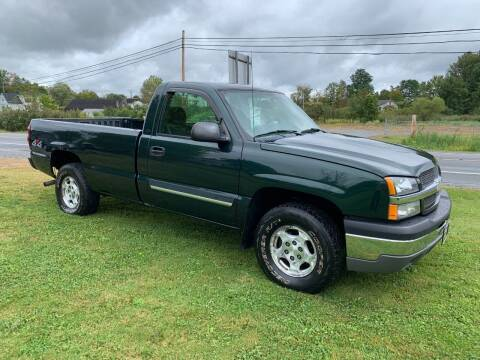 2004 Chevrolet Silverado 1500 for sale at Saratoga Motors in Gansevoort NY