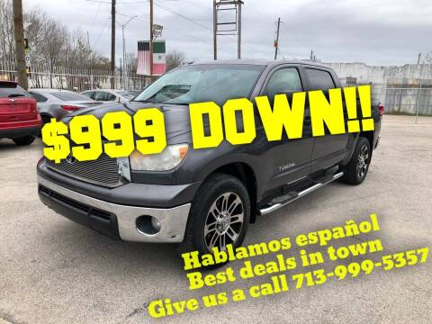 2012 Toyota Tundra for sale at Saipan Auto Sales in Houston TX