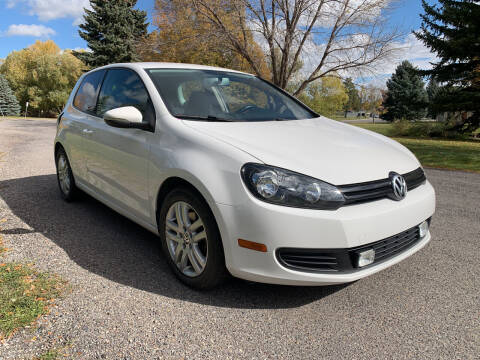2012 Volkswagen Golf for sale at BELOW BOOK AUTO SALES in Idaho Falls ID