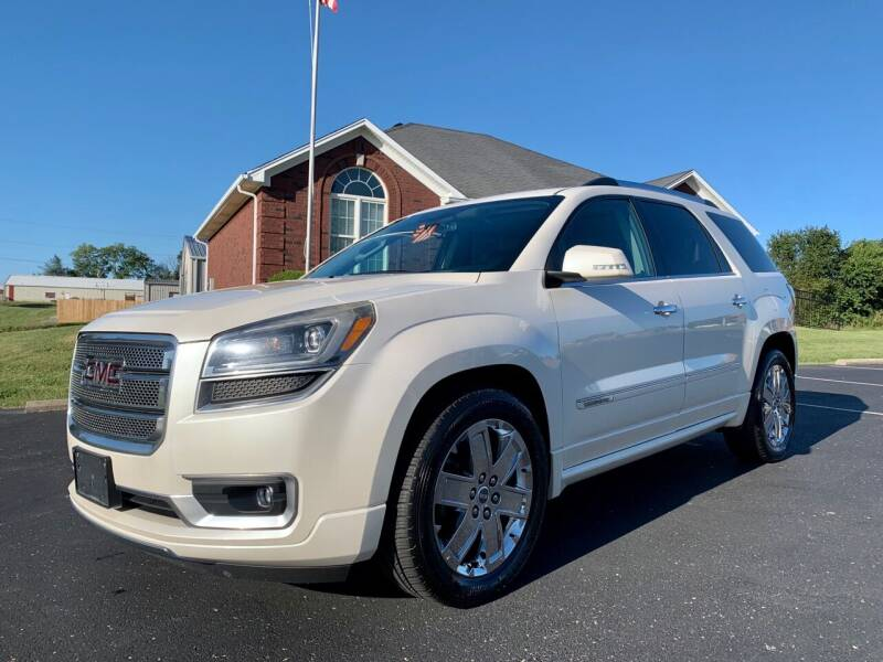 2013 GMC Acadia for sale at HillView Motors in Shepherdsville KY