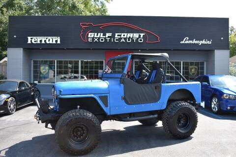 1984 Jeep CJ-7 for sale at Gulf Coast Exotic Auto in Biloxi MS