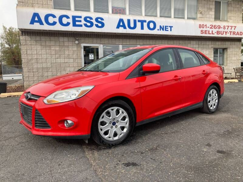 2012 Ford Focus for sale at Access Auto in Salt Lake City UT