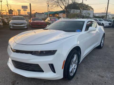2018 Chevrolet Camaro for sale at Cow Boys Auto Sales LLC in Garland TX