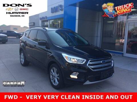2017 Ford Escape for sale at DON'S CHEVY, BUICK-GMC & CADILLAC in Wauseon OH