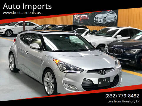 2012 Hyundai Veloster for sale at Auto Imports in Houston TX