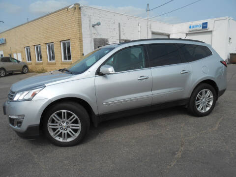 2015 Chevrolet Traverse for sale at Salmon Automotive Inc. in Tracy MN