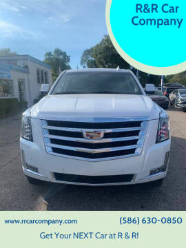 2019 Cadillac Escalade for sale at R&R Car Company in Mount Clemens MI