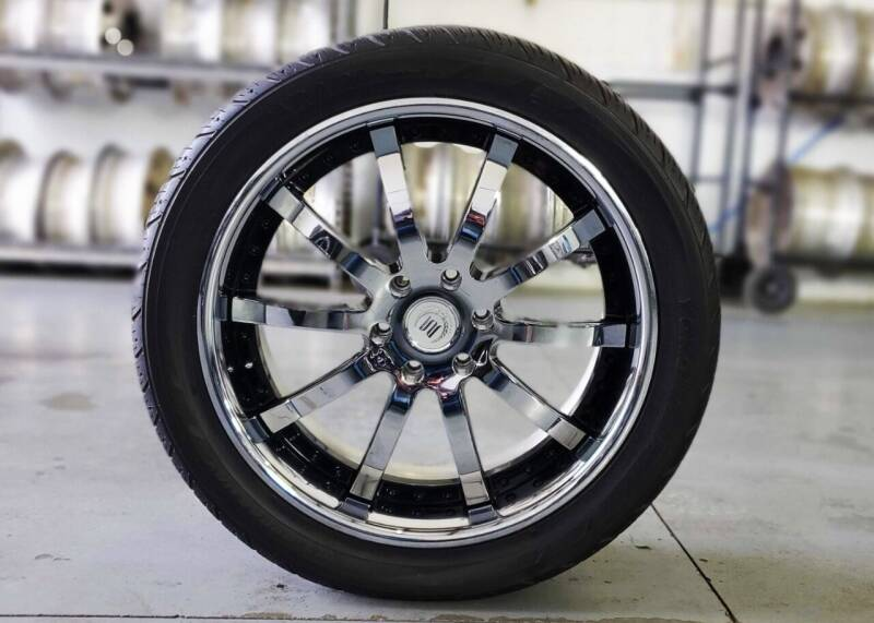 """Modular Society 22"""" Polished Alloy Wheels for sale at A F SALES & SERVICE in Indianapolis IN"""