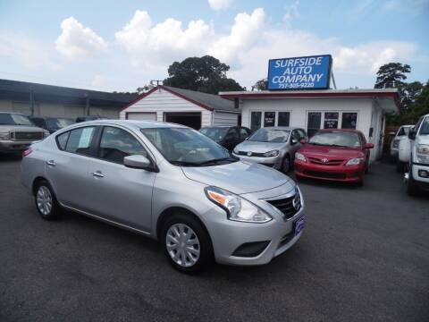 2016 Nissan Versa for sale at Surfside Auto Company in Norfolk VA