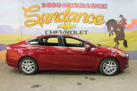 2014 Ford Fusion for sale at Sundance Chevrolet in Grand Ledge MI
