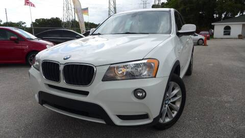 2013 BMW X3 for sale at Das Autohaus Quality Used Cars in Clearwater FL