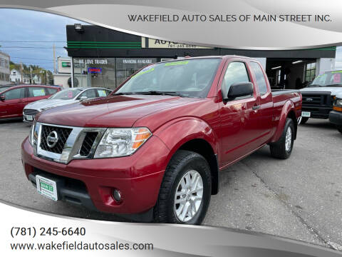 2014 Nissan Frontier for sale at Wakefield Auto Sales of Main Street Inc. in Wakefield MA