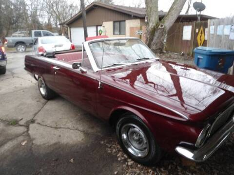 1963 Plymouth Valiant for sale at Classic Car Deals in Cadillac MI