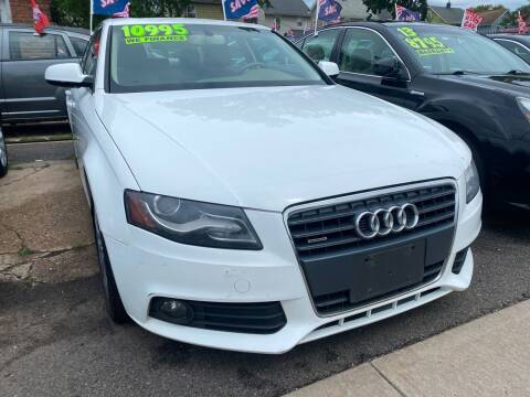 2011 Audi A4 for sale at GRAND USED CARS  INC in Little Ferry NJ