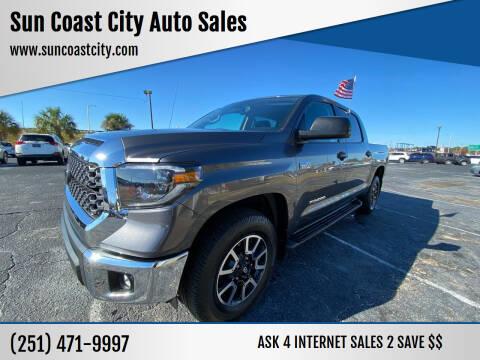 2019 Toyota Tundra for sale at Sun Coast City Auto Sales in Mobile AL