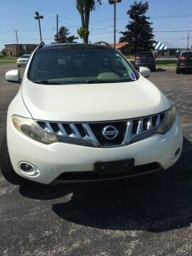 2009 Nissan Murano for sale at Hamburg Motors in Hamburg NY