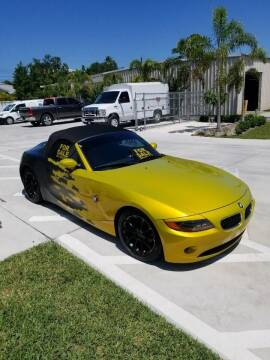 2003 BMW Z4 for sale at Exquisite Auto in Sarasota FL