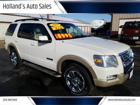 2008 Ford Explorer for sale at Holland's Auto Sales in Harrisonville MO