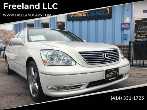 2005 Lexus LS 430 for sale at Freeland LLC in Waukesha WI