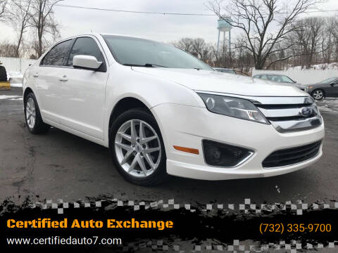 2012 Ford Fusion for sale at Certified Auto Exchange in Keyport NJ