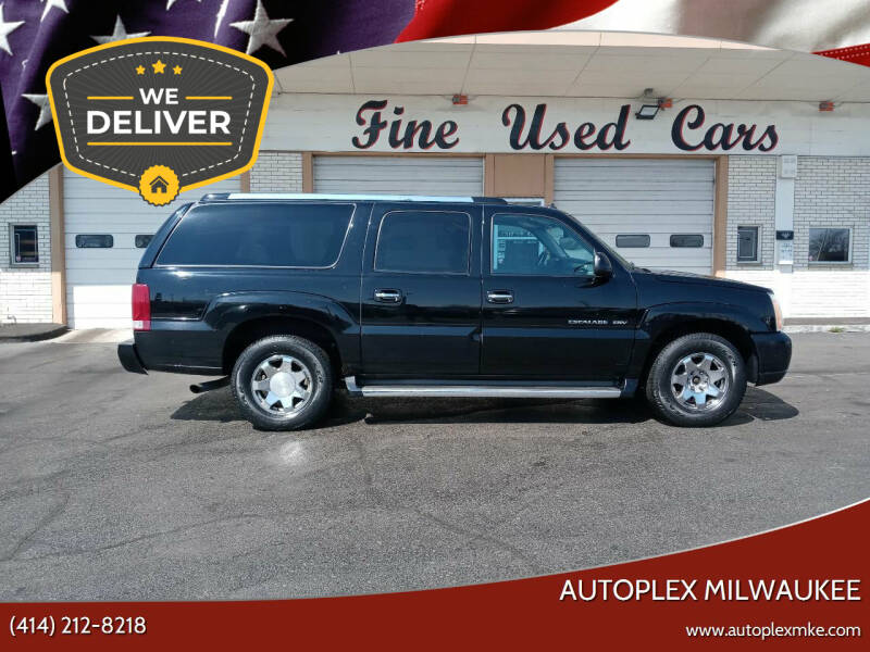 2003 Cadillac Escalade ESV for sale at Autoplex 2 in Milwaukee WI