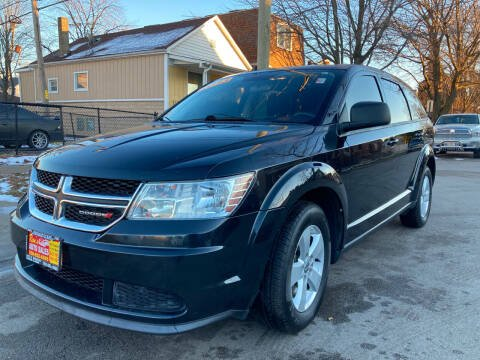2013 Dodge Journey for sale at RON'S AUTO SALES INC in Cicero IL
