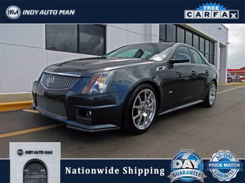 2012 Cadillac CTS-V for sale at INDY AUTO MAN in Indianapolis IN