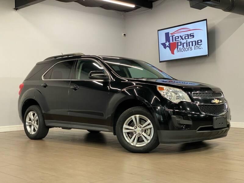 2013 Chevrolet Equinox for sale at Texas Prime Motors in Houston TX