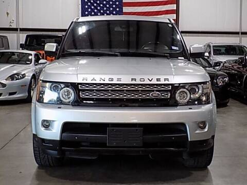 2013 Land Rover Range Rover Sport for sale at Texas Motor Sport in Houston TX